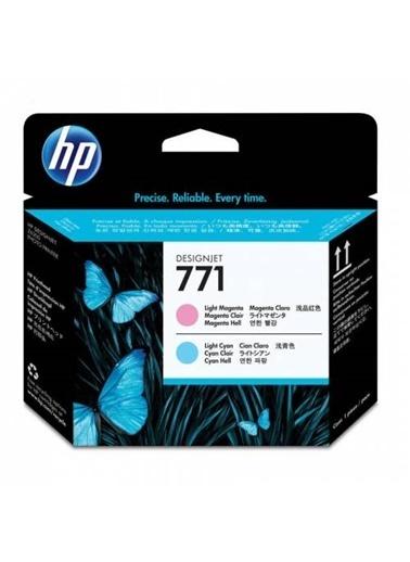 HP 771 Açık Macenta Ve Açık Cam Göbeği Orjinal Designjet Baskı Kafası Ce019A Renkli